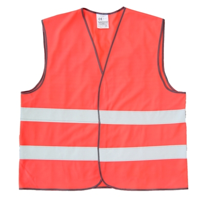 Red Safety Jacket EN 20471