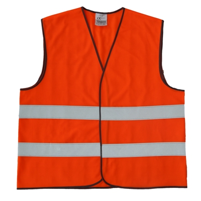 Orange Safety Jacket EN 20471